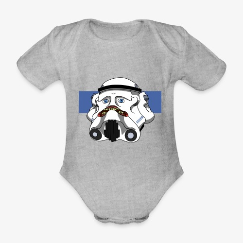 The Look of Concern - Organic Short-sleeved Baby Bodysuit