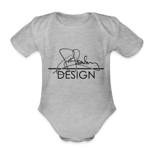 sasealey design logo png - Organic Short-sleeved Baby Bodysuit