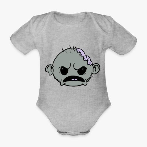Zombob - Kortærmet babybody, økologisk bomuld