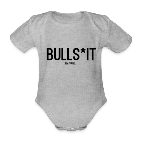 BS Apparel - Organic Short-sleeved Baby Bodysuit