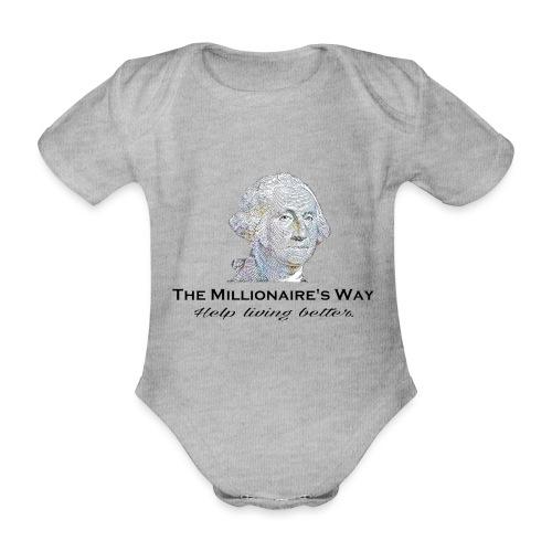 Il nostro logo - Body ecologico per neonato a manica corta