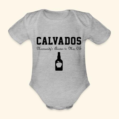 calvados - Baby Bio-Kurzarm-Body
