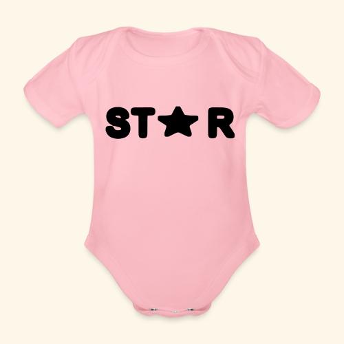 Star of Stars - Organic Short-sleeved Baby Bodysuit