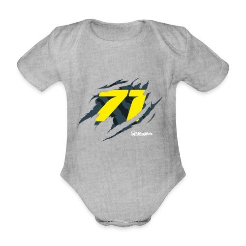 Milou Mets 71 - Baby bio-rompertje met korte mouwen