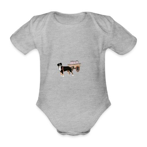 Grosser Drag - Ekologisk kortärmad babybody