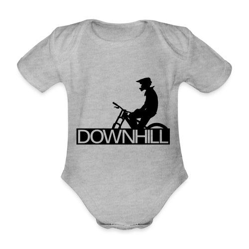 Downhill Biker - Baby Bio-Kurzarm-Body