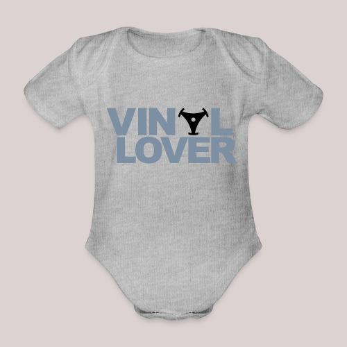 02-30-Vinyl Lover Musik DJ - Baby Bio-Kurzarm-Body