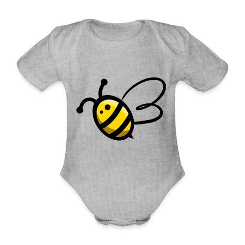 Bee b. Bee - Organic Short-sleeved Baby Bodysuit