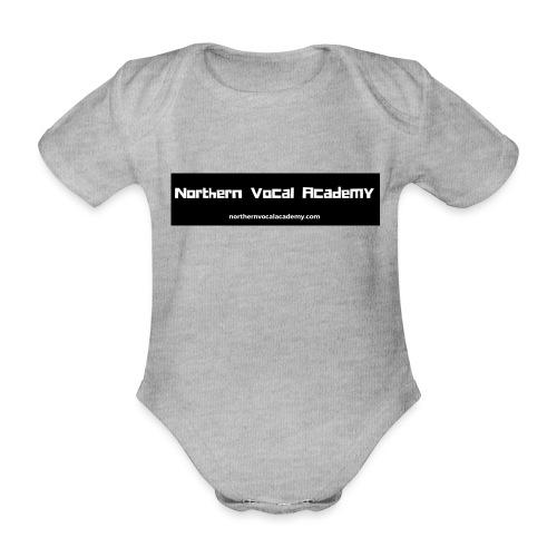 Northern Vocal Academy Logo - Organic Short-sleeved Baby Bodysuit