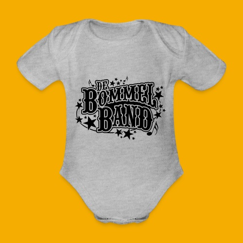 bb logo - Baby bio-rompertje met korte mouwen