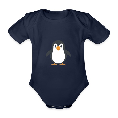 Pinguin - Baby Bio-Kurzarm-Body