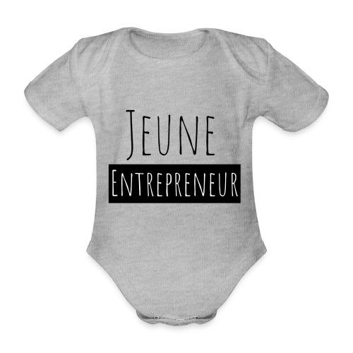 Jeune Entrepreneur - Body Bébé bio manches courtes