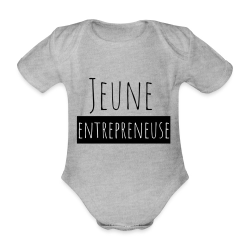 Jeune Entrepreneuse - Body Bébé bio manches courtes