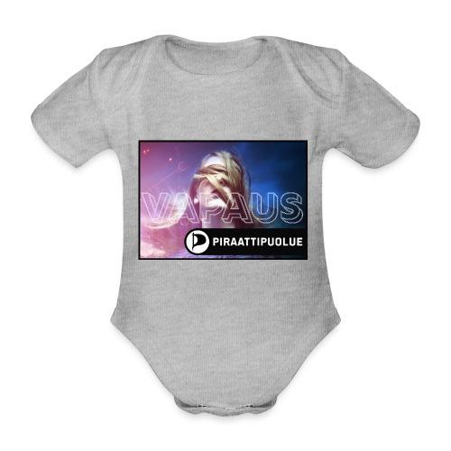 Valitse vapaus - Vauvan lyhythihainen luomu-body