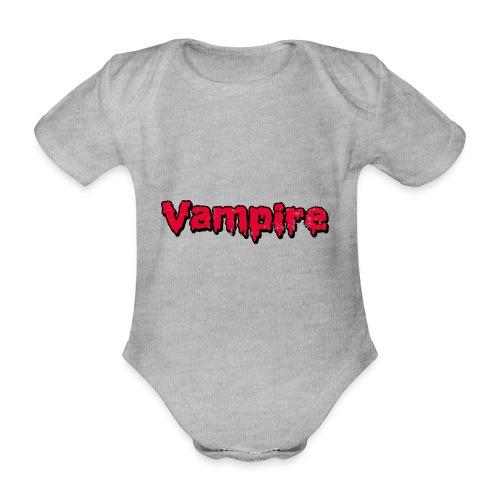 VAMPIRE Design - Organic Short-sleeved Baby Bodysuit