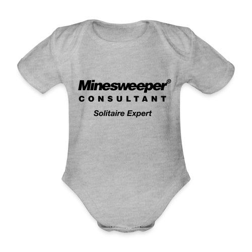 minesweeper - Baby Bio-Kurzarm-Body