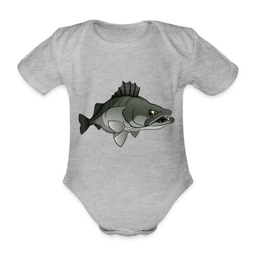 Red River: Zander - Organic Short-sleeved Baby Bodysuit
