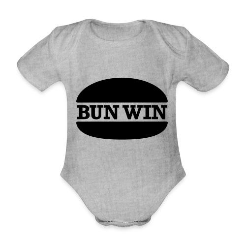 bunwinblack - Organic Short-sleeved Baby Bodysuit