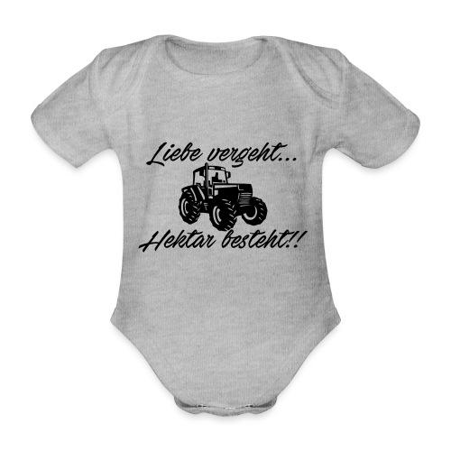 liebe vergeh - Baby Bio-Kurzarm-Body