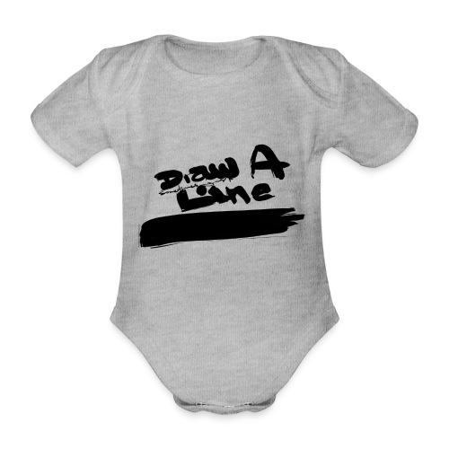 Draw A Line Stefan Lindbl - Ekologisk kortärmad babybody