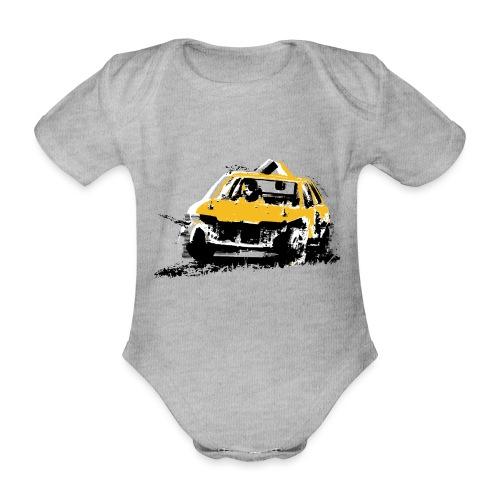 StockCar - Organic Short-sleeved Baby Bodysuit