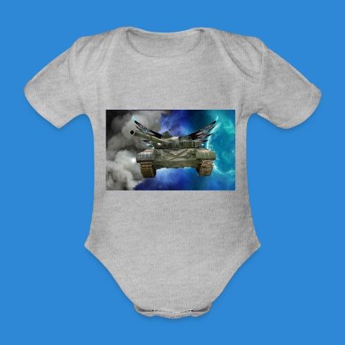 T72 - Organic Short-sleeved Baby Bodysuit