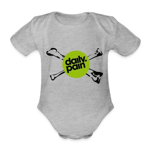 daily pain cho kark - Ekologiczne body niemowlęce z krótkim rękawem