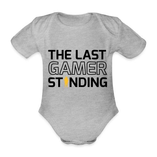 The Last Gamer Standing 2 - Organic Short-sleeved Baby Bodysuit