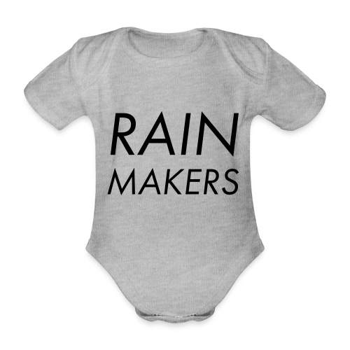 rainmakertext - Vauvan lyhythihainen luomu-body