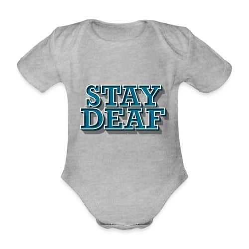 Bleib Taub - Baby Bio-Kurzarm-Body