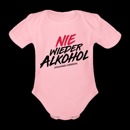 Nie wieder Alkohol - Baby Bio-Kurzarm-Body