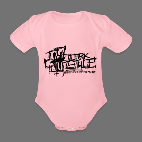 Tumma Style - Statement of Culture (musta) - Vauvan lyhythihainen luomu-body
