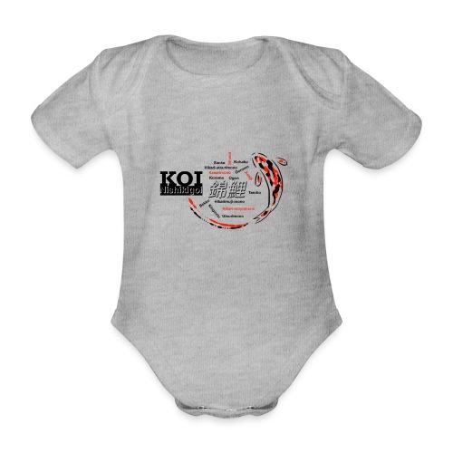 Koi - Baby Bio-Kurzarm-Body