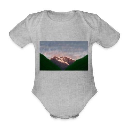 Mountain - Organic Short-sleeved Baby Bodysuit