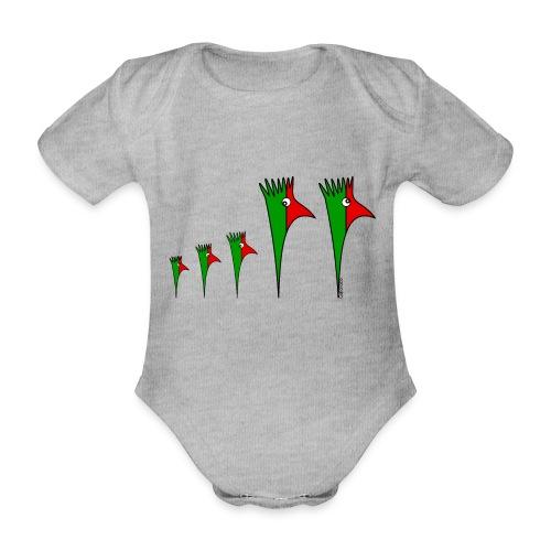 Galoloco - Familia3 - Organic Short-sleeved Baby Bodysuit