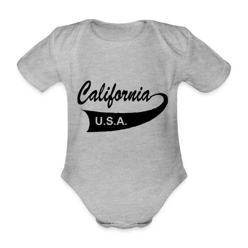 California USA - Baby Bio-Kurzarm-Body