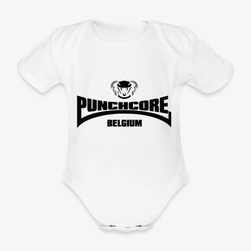 PUNCHCORE BELGIUM - Body Bébé bio manches courtes