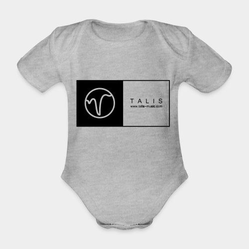TALIS (2Quadrate) - Baby Bio-Kurzarm-Body