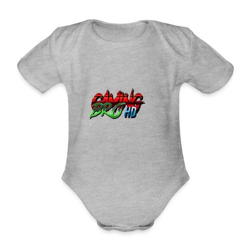 gamin brohd - Organic Short-sleeved Baby Bodysuit
