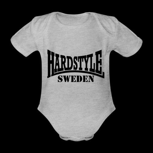 hardstyle - Ekologisk kortärmad babybody