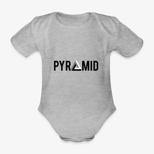 PYRAMID - Organic Short-sleeved Baby Bodysuit