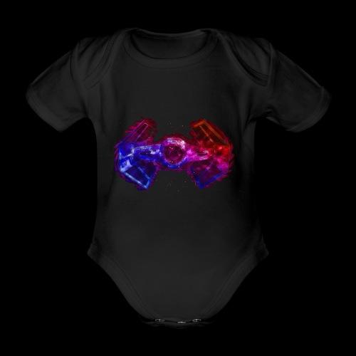Tie Fighter - Organic Short-sleeved Baby Bodysuit
