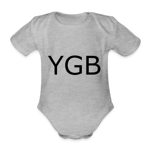 YGB - Organic Short-sleeved Baby Bodysuit