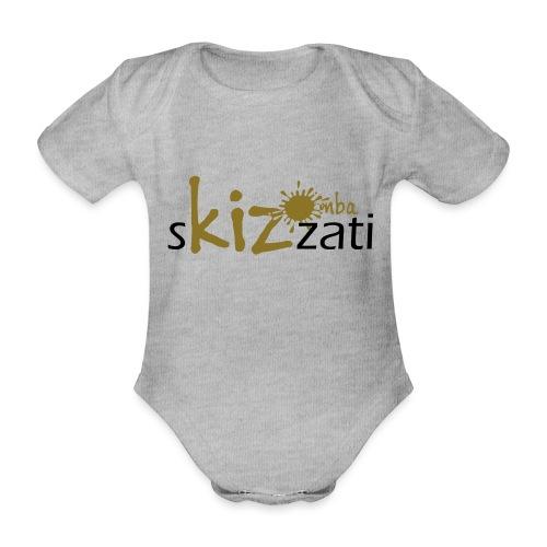 Beanie in jersey con logo sKizzati Kizomba - Verde - Body ecologico per neonato a manica corta