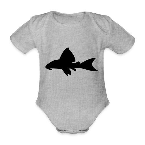 Malle - Økologisk kortermet baby-body