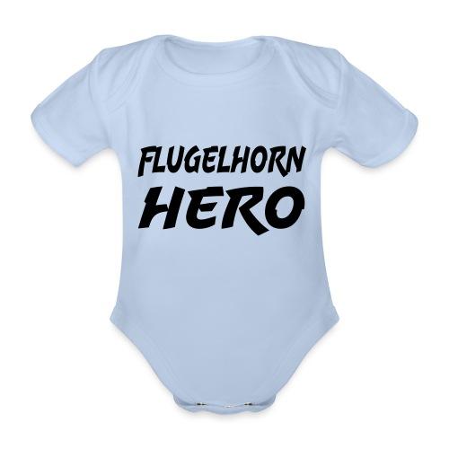 Flugelhorn Hero - Økologisk kortermet baby-body
