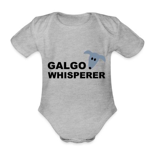 Galgowhisperer - Baby Bio-Kurzarm-Body