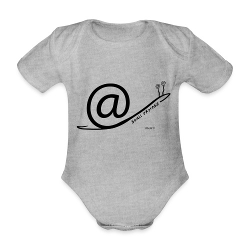 Snail Express - Body ecologico per neonato a manica corta