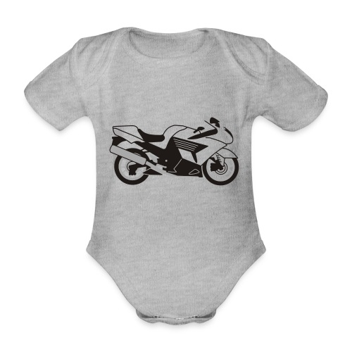 ZZR1400 ZX14 - Organic Short-sleeved Baby Bodysuit
