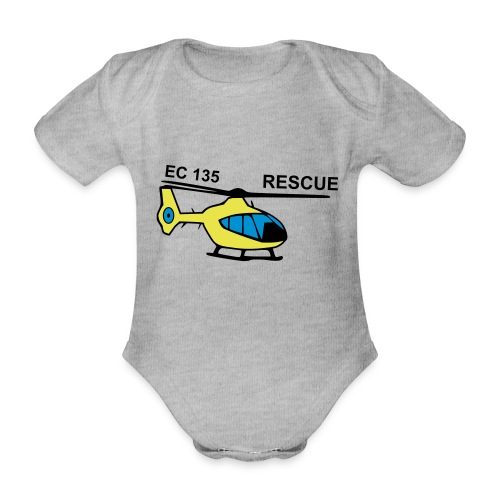 rescue - Baby Bio-Kurzarm-Body